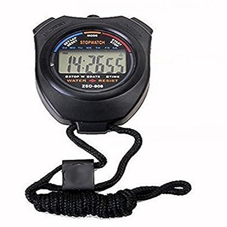 homiki chronométreur portátil contador de deporte reloj digital contador cronómetro deporte digital Cronómetro Temporizador con pantalla