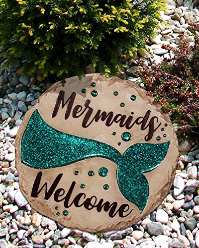 (Spoontiques 13263 Mermaid Stepping Stone, 1)