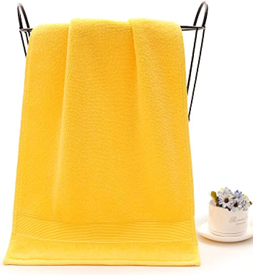 WLQCPD Toalla de baño Toalla de baño de algodón de Bordado ...