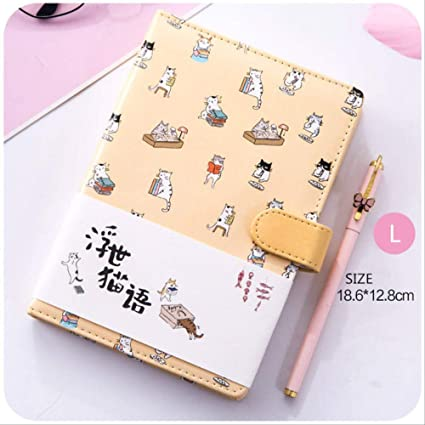YNIME Cuaderno Kawaii Notebook Planer bullet journal Semanal ...