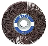 High Performance Mini Flap Wheels With Mounted Steel Shanks, 3 In X 1
