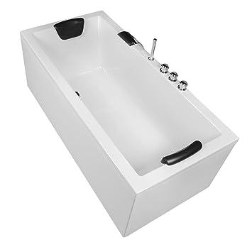 Hervorragend AQUADE Stabile Badewanne 180x80 mit Untergestell Rechteckwanne 180 LF71