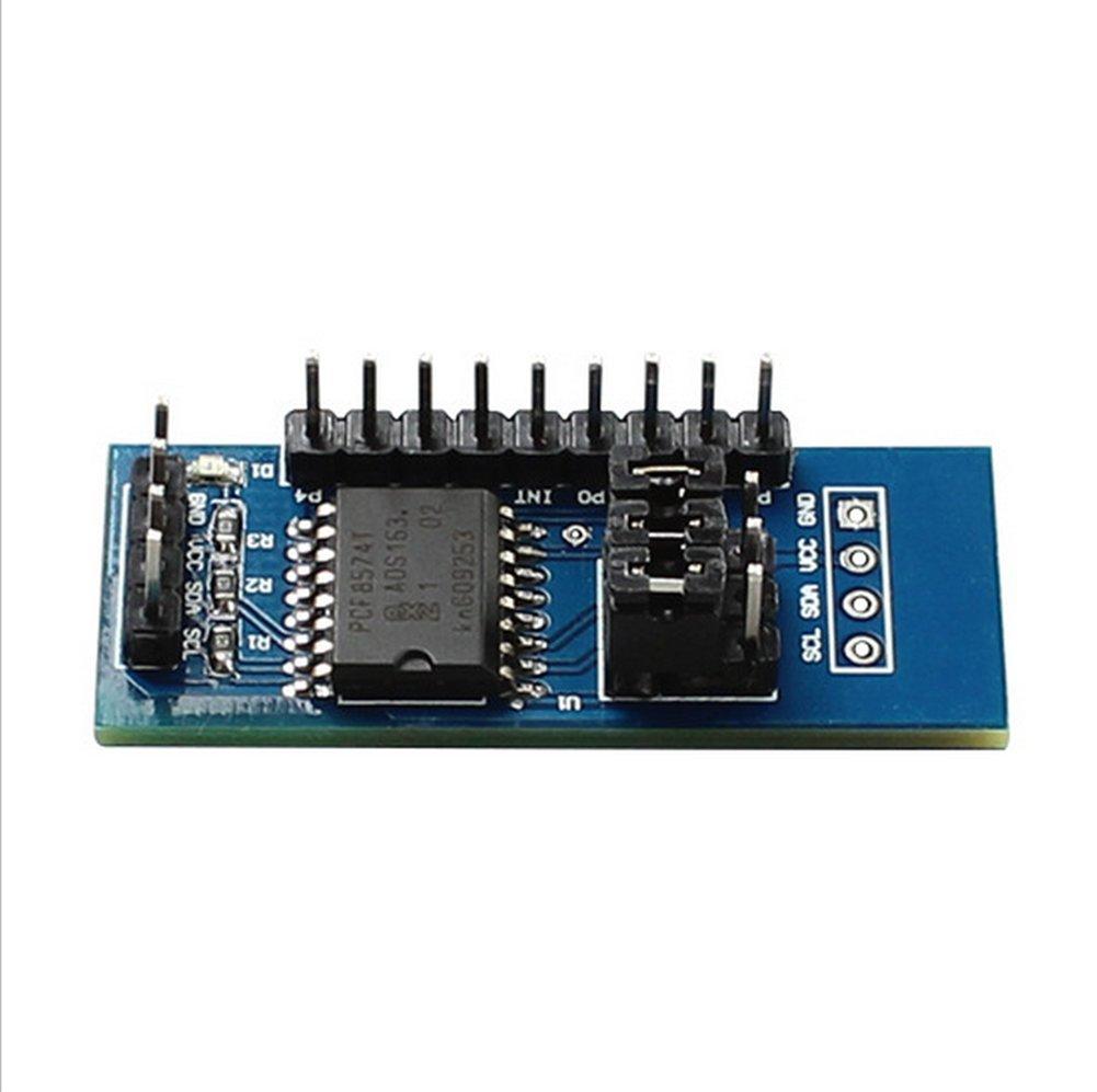 Demarkt PCF8574 PCF8574T Modul IO-Erweiterungsmodul I//O-Erweiterungsmodul I2C