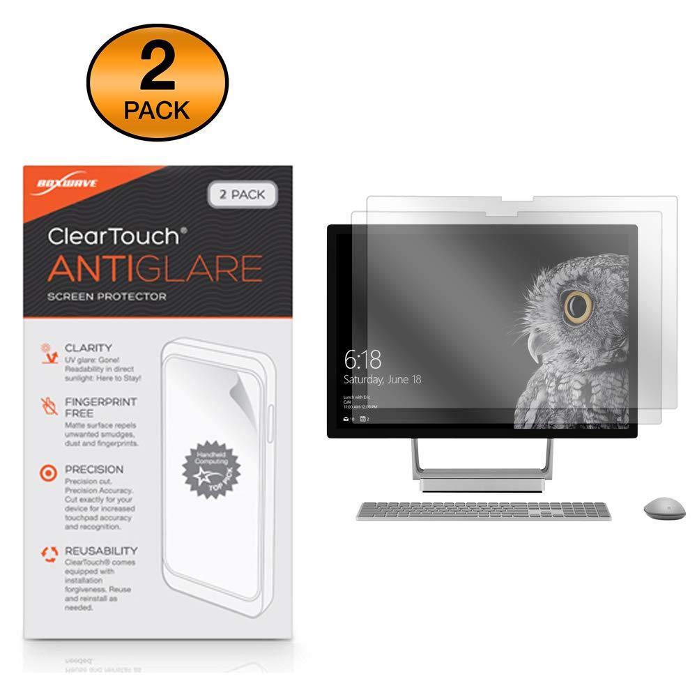 Microsoft Surface Studio Screen Protector, BoxWave [ClearTouch Anti-Glare (2-Pack)] Anti-Fingerprint Matte Film Skin for Microsoft Surface Studio, Studio 2