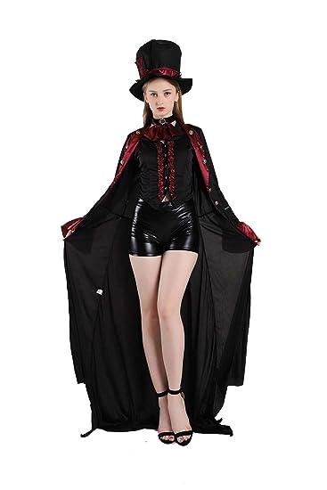 Amazon.com: Halloween Adult Costumes For Women, Vampire ...