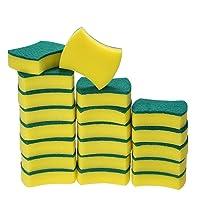 Deals on Esonmus 20 Pack Multi-Use Heavy Duty Scrub Sponge