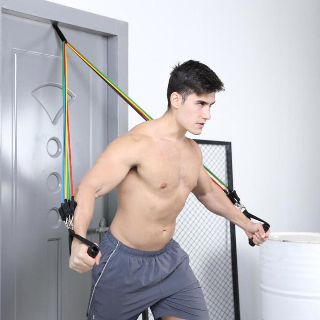 1 Soporte para puerta para bandas elásticas de resistencia, ejercicios de fitness, entrenamiento en casa