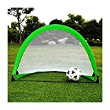 Portable Football Goal Net Foldable Simple for Children and Teenagers 120x 81 x 81CM