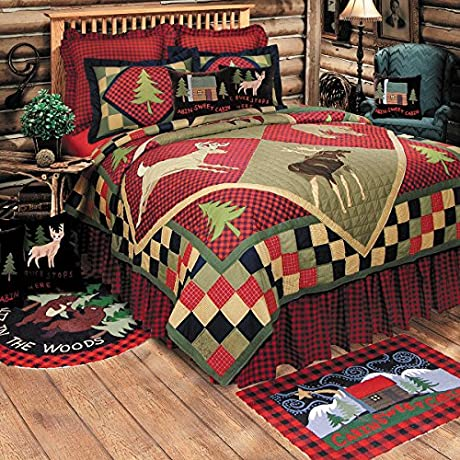 100 X 90 King Quilt Lodge