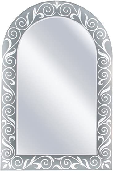 Head West Spring Arch Mirror, 23 by 35-Inch