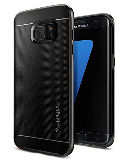 super popular 85ab1 00620 Spigen Neo Hybrid Galaxy S7 Edge Case with Flexible Inner Protection and  Reinforced Hard Bumper Frame for Samsung Galaxy S7 Edge 2016 - Gunmetal