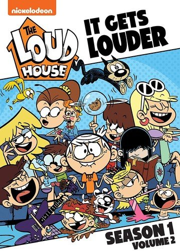DVD : The Loud House: It Gets Louder - Season 1, Vol. 2 (Widescreen, 2 Pack, Dubbed, 2PC)