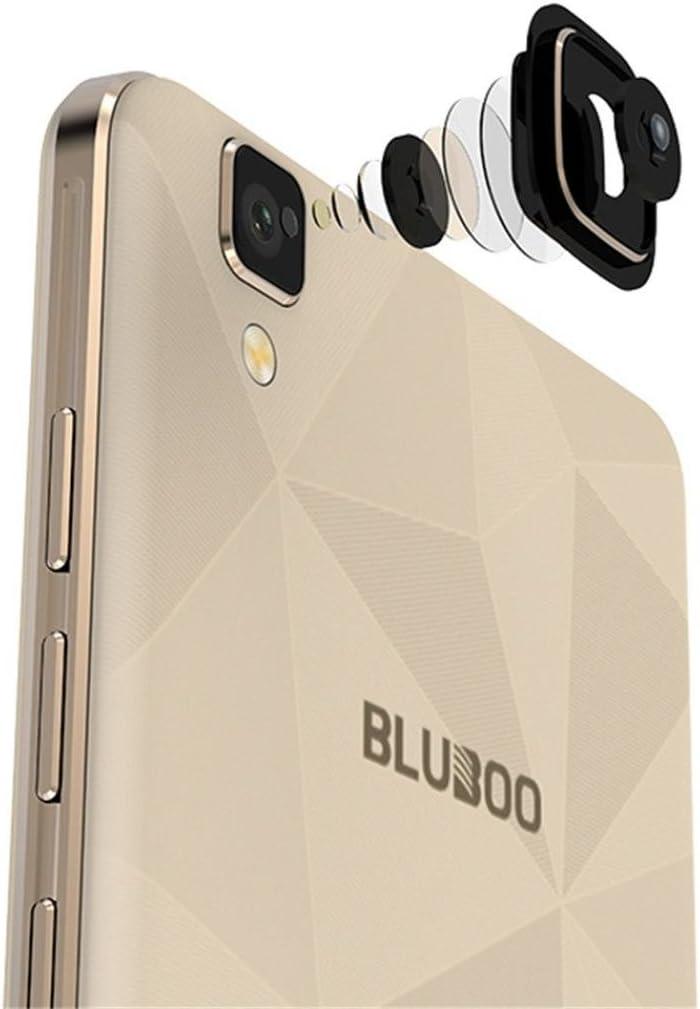 Amh de Bluboo Maya 3 G Smartphone Dual SIM Android 6.0 5.5 pulgadas HD JDI mt6580 a Quad-Core 1,3 GHz, 2 GB + 16GB, 8.0 MP + 13.0 MP Sony Cámara 3000