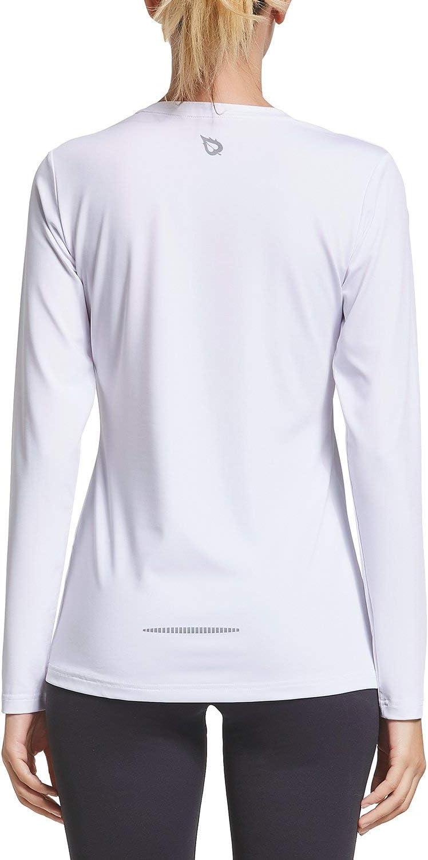BALEAF Womens Long Sleeve T-Shirt Quick Dry Running Workout Shirts