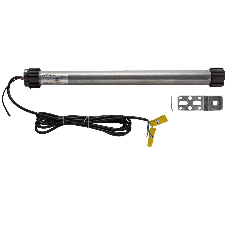 JAROLIFT 1x Motor tubular electrónico para persianas TDEF 20 Nm/13, incluye mando a distancia de 4 canales con Timer integrado TDRCT 04: Amazon.es: ...