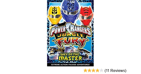 Amazon com: Power Rangers: Jungle Fury - Way of the Master