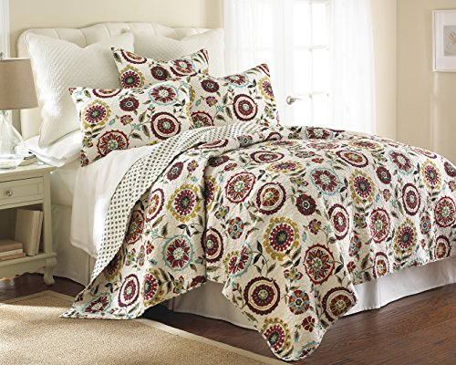 Levtex Colette Twin Cotton Quilt Set