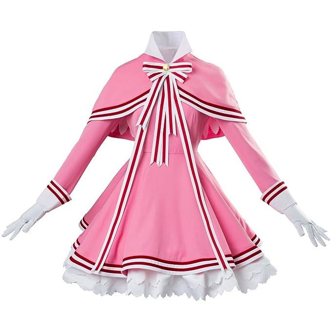 Amazon.com: ya-cos Cardcaptor Sakura Kinomoto transparente ...