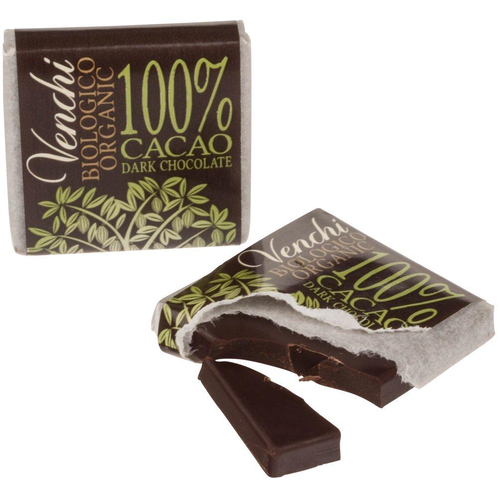 Venchi Organic 100% Dark Chocolate Blend 7g, 1000 g Bulk: Amazon.es: Alimentación y bebidas