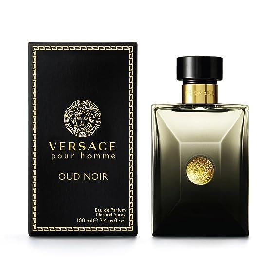 f957f8fdbaf5 Versace Oud Noir Eau De Parfum pour Homme 100 ml  Amazon.fr  Beauté et  Parfum