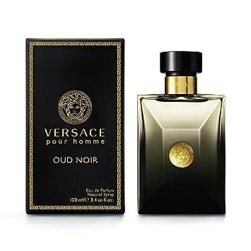 Amazoncom Versace Oud Noir Eau De Parfum Spray 34 Ounce Beauty