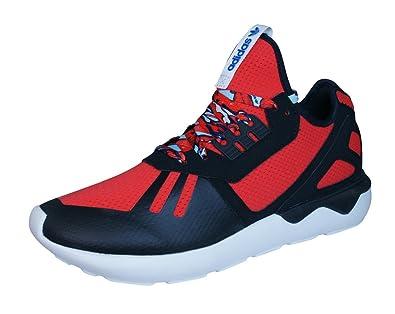225299b5281 adidas Men s Tubular Runner Running Shoes red Size  9 UK  Amazon.co ...