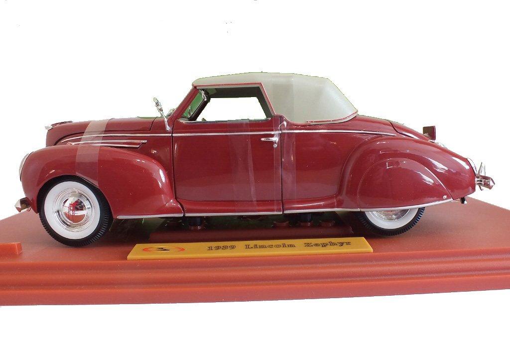 Signatur Models Lincoln Zephyr 1939, 1:18