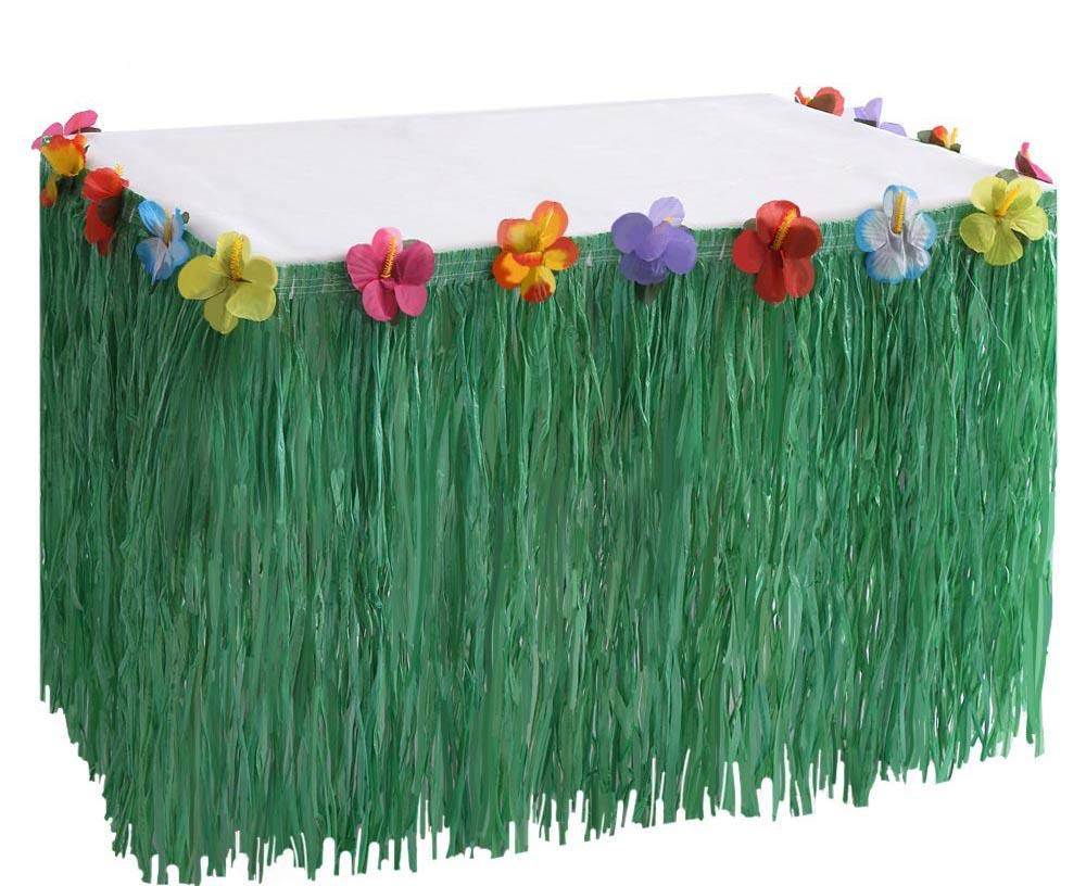 Amazon Com 24 X 12 Quot Green Grass Skirt Deck Trim Fringe