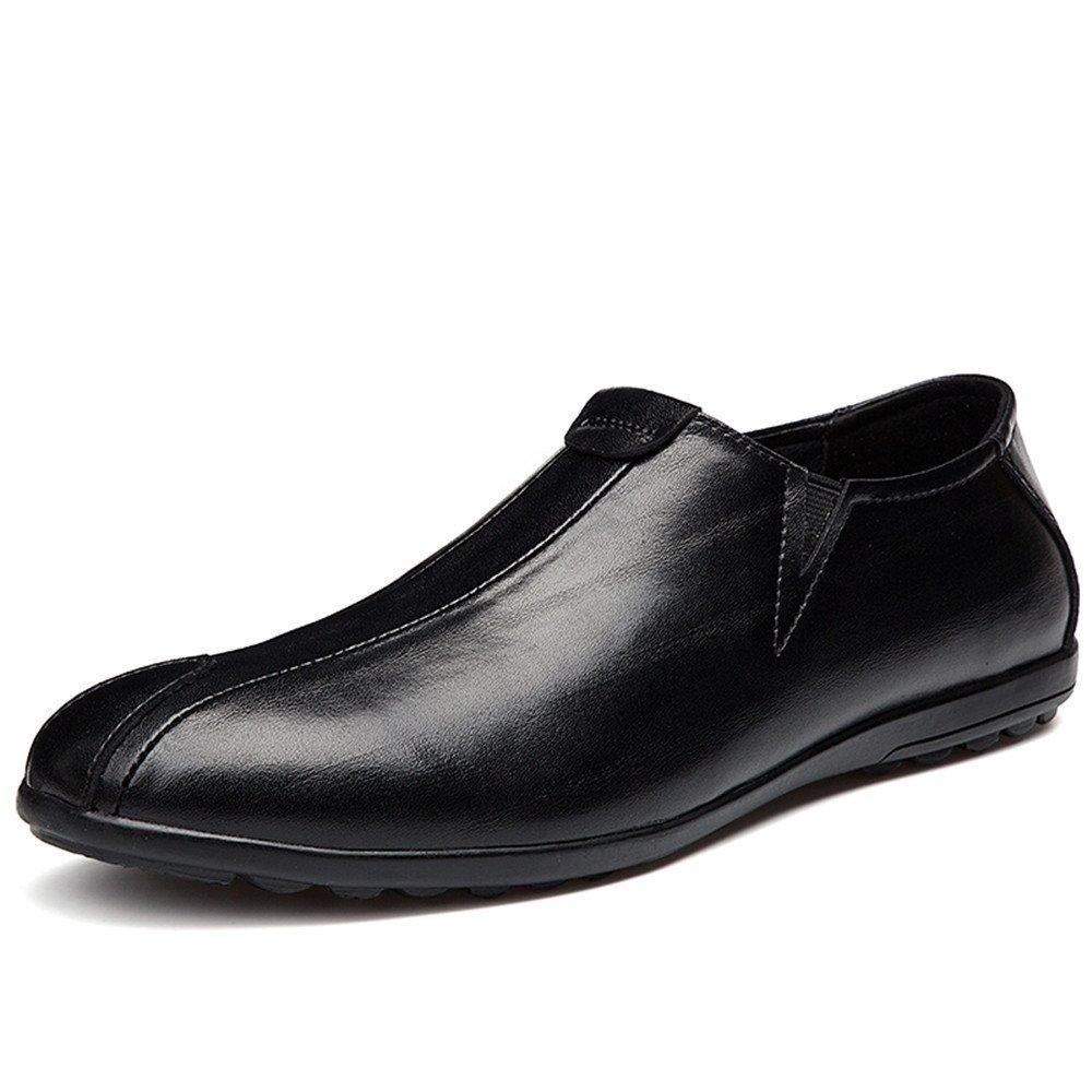 Decoración de Parche mocasín de conducción de Moda de los Hombres Mocasines 37 EU|Negro