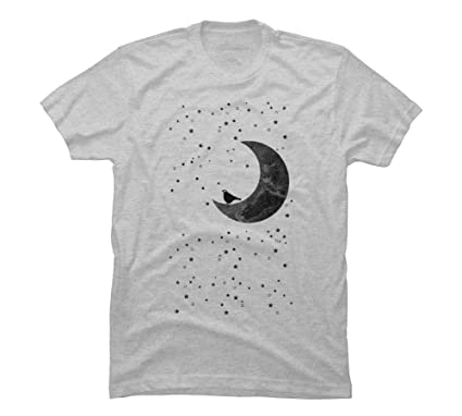 098c68e75 Moonlight Men's Small Athletic Heather Graphic T Shirt - Design By Humans