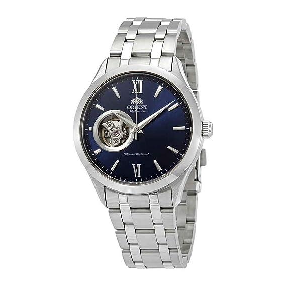 Orient Reloj Analógico para Hombre de Automático con Correa en Acero Inoxidable FAG03001D0: Amazon.es: Relojes