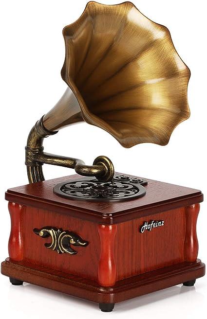 Set of 15 Gramophone Brass Horns Damaged