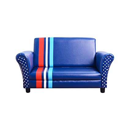 Pleasant Amazon Com Kids Sofa Double Seater Upholstered Armrest Short Links Chair Design For Home Short Linksinfo