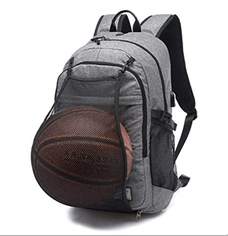 a9f733d2f4d9 Buy JOYBI Outdoor Mens Sports Basketball Backpack Gym Bags School Bags for  Teenager Boys Soccer Ball Pack Laptop Bag Basketball Net Bag Online at Low  Prices ...