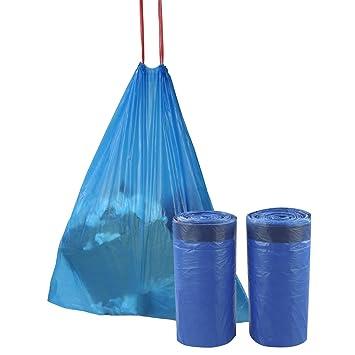 Amazon.com: Fiaze - Bolsa de basura pequeña con cordón de 3 ...