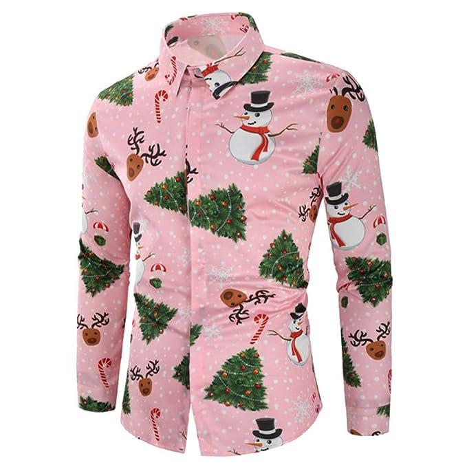 Freizeit Top Bluse Sweatshirt Winter Weihnachten Schneeflocken Aufdruck Lang Arm