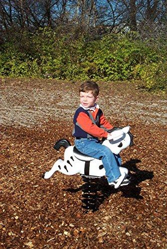 Playground Spring Riders - SportsPlay Zebra Spring Rider
