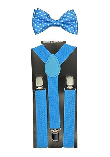 """870fb03af227 CUTE Baby Toddler Kids Children Boys """"Baby Blue"""" Elastic  Suspender ..."""