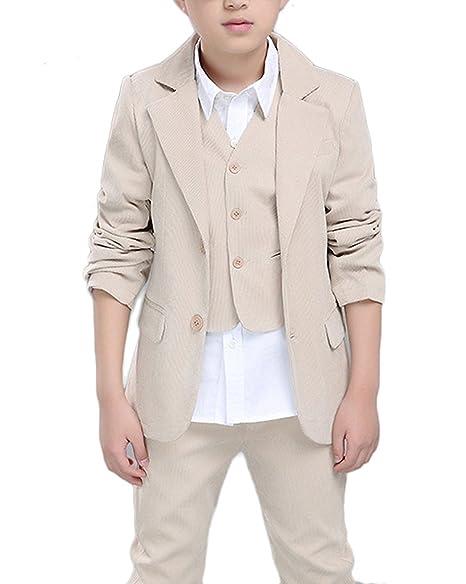 Amazon.com: suiying niños Vintage pana trajes chamarra ...