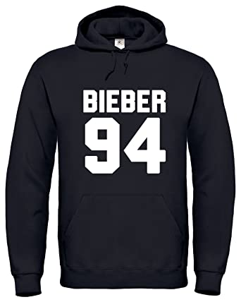 Justin Bieber Merchandise / Justin Bieber / Bieber 94 / Hoodie / Pull / Sudadera /