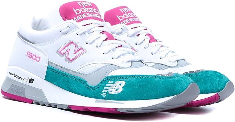 new balance verde y rosa