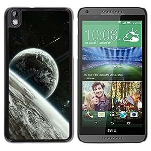 LECELL -- Funda protectora / Cubierta / Piel For HTC DESIRE 816 -- Space Planet Galaxy Stars 22 --