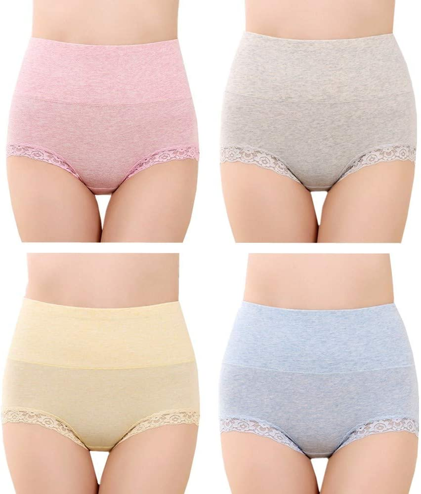 HAODEE Braguitas Mujer Braga Alta Shorts Mujer Sexy Acogedor Ropa ...