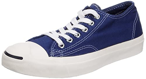 e78a72608bc1 Converse Unisex Adult Jack Purcell Garment Dyed Ox Navy Milk Trainer 113517  8.5 UK