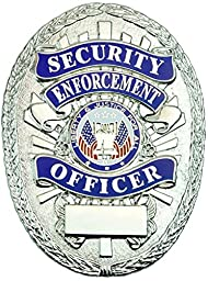Tactical 365 Operation First Response Security Enforcement Officer Shield Badge (Nickel)