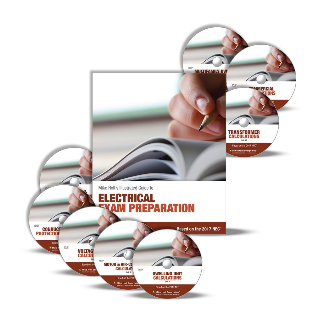 Mike Holt's Electrical Calculations Training Library, 2017 NEC: Mike Holt:  9780997467239: Amazon.com: Books