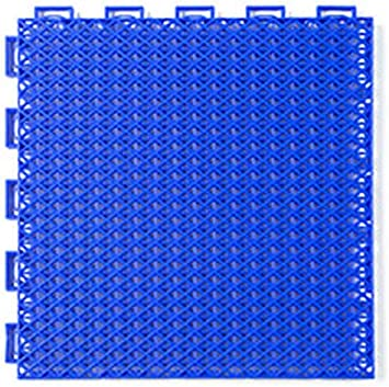Color : Blue, Size : 25X25X1.3cm 4 Colors WHAIYAO Foam Puzzle Mats Outdoor Suspended Floor Basketball Field Non-Slip Shock Absorption Pad Polypropylene