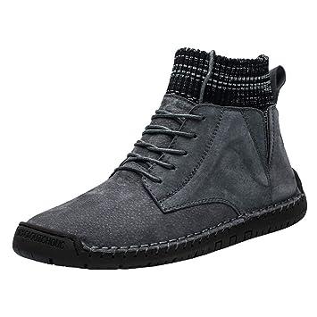 Scarpe Stivali Stivali Estivi gilet Uomo Cotone