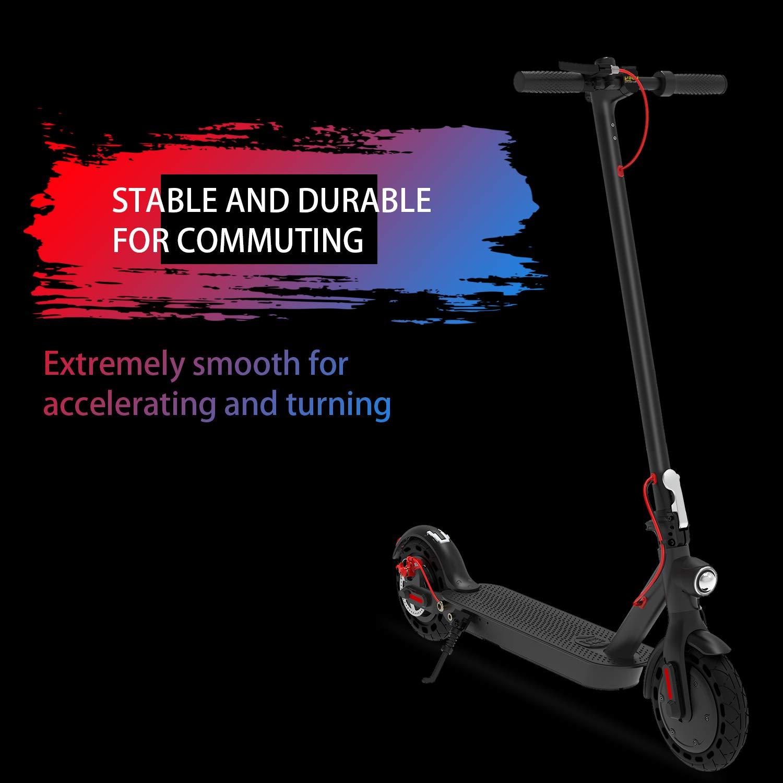Amazon.com: Hiboy S2 Patinete eléctrico – neumáticos sólidos ...