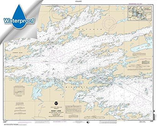 NOAA Chart 14997: Rainy Lake-Dryweed Island: to Big Island 32.7 x 40.8 (WATERPROOF)